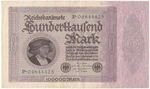 Nemecko  republika  1918  1933  100 000 Marka