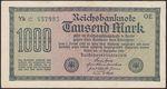 Nemecko republika 1918  1933 1000 Marka 1922