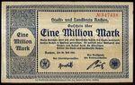 Aachen 1 Mio Marek