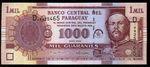 Paraguay  1000 Guaranies