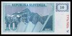 Slovinsko  10 Tolar