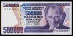 Turecko  500000 Lirasi