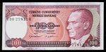 Turecko  100 Lirasi