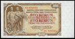 100 Koruna 1953