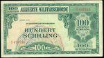 100 Schill  1944  Rakousko republika