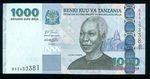 1000 Shillingi  Tanzanie