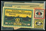 Konvolut 10 ks ruznych nouzovek  Nemecko