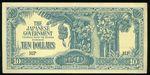 10 Dolar  Malaysie  japonska okupace