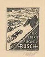 Ex libris Egon Busch