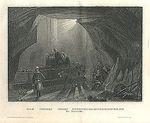 Das Innere eines Steinkohlenbergwerks