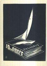 Ex libris JD de Rioder