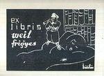 Ex libris Weil Frigies