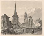 Die St Stefanskirche in der Neustadt Prag
