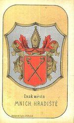 Znak mesta Mnich  Hradiste