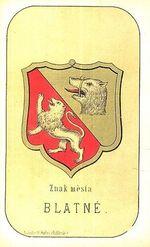 Znak mesta Blatne