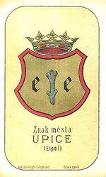 Znak mesta Upice Eipel