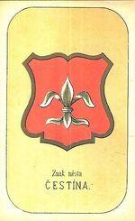 Znak mesta Cestina