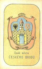 Znak mesta Ceskeho Brodu