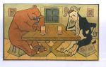 Medved a kozel u piva
