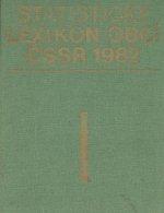 Statisticky lexikon obci CSSR 1982  I