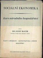 Socialni ekonomika  Kurs narodniho hospodarstvi  cast V duchody  konjuktura a krise  rejstriky