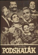 Podskalak  divadelni prospekt  opereta r 1957