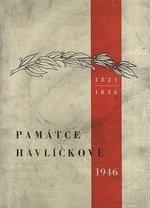 Pamatce Havlickove 1946  sbornik