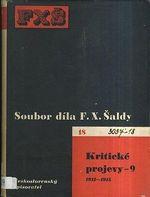 Soubor dila F X  Saldy  Kriticke projevy 9  19121915