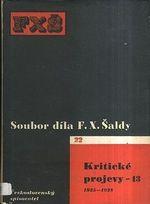 Soubor dila FX Saldy  Kriticke projevy 13  19251928