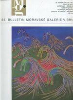 55 Bulletin moravske galerie v Brne