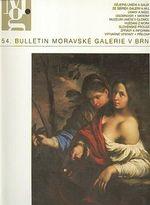 54  Bulletin moravske galerie v Brne