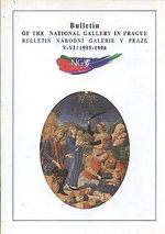 Bulletin Narodni galerie v Praze  VVI  1995  1996