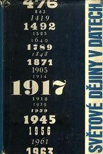 Svetove dejiny v datech I a II dil