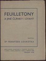 Feuilletony a jine clanky i uvahy