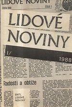 Lidove noviny I  1989