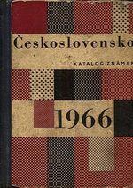 Ceskoslovensko 1966  katalog znamek