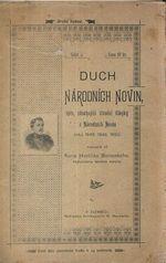 Duch Narodnich novin  spis obsahujici uvodni clanky z NN roku 1848 1849 a 1850 sepsanych od KH Borovskeho