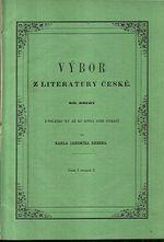 Vybor z literatury ceske dil druhy casti I svazek 2 Z pocatku XV az ku konci XVIII stoleti