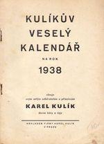 Kulikuv zabavny kalendar na rok 1938