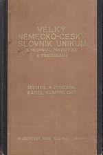 Velky nemeckocesky slovnik Unikum