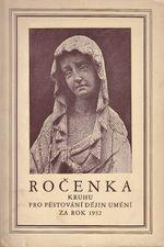Rocenka Kruhu pro pestovani dejin umeni za rok 1932