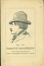 1821  1921 Pamatce Havlickove  Vybor z praci havlickovych