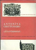 Antonina CHittussiho leta ucednicka  Ze styku A  Chittussiho s Augustou a Zdenkou Braunerovou