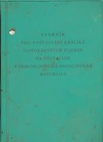 Vzornik pro posuzovani kraliku cistokrevnych plemen na vystavach v Ceskoslovenske socialisticke republice