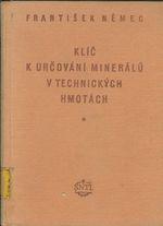 Klic k urcovani mineralu v technickych hmotach