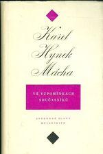 Karel Hynek Macha ve vzpominkach soucasniku