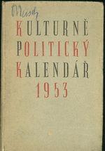 Kulkturne politicky kalendar 1953