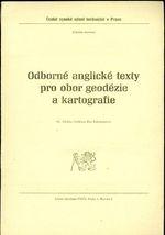 Odborne anglicke texty pro obor geodezie a kartografie