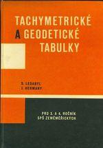 Tachymetricke a geodeticke tabulky