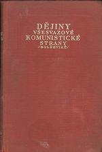 Dejiny vsesvazove komunisticke strany bolseviku